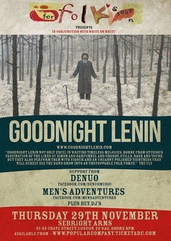 Live | Thursday night in London: Goodnight Lenin